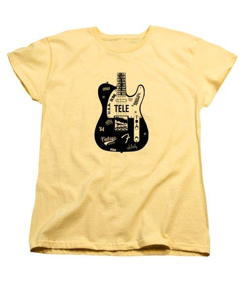 Fender Telecaster 64 Women's T-Shirt (Standard Cut)