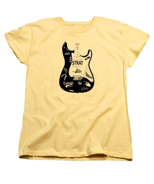 Fender Stratocaster 64 Women's T-Shirt (Standard Cut)