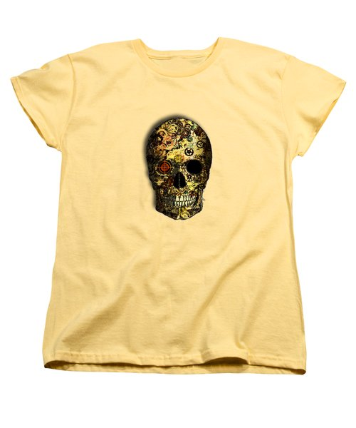 Skullgear Women's T-Shirt (Standard Cut) by Iowan Stone-Flowers