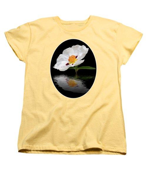 Cistus Reflections Women's T-Shirt (Standard Cut) by Gill Billington