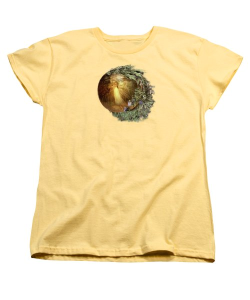 No Such Thing As Elves Women's T-Shirt (Standard Cut) by Susan Capuano