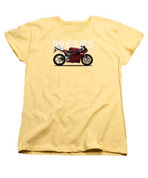 The 996 Women's T-Shirt (Standard Cut) by Mark Rogan