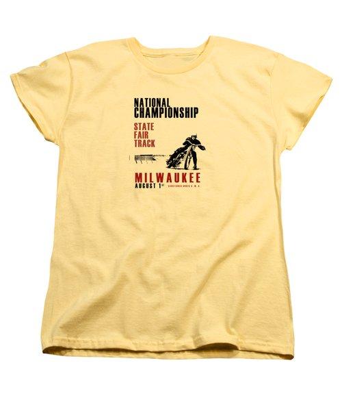 National Championship Milwaukee Women's T-Shirt (Standard Cut) by Mark Rogan