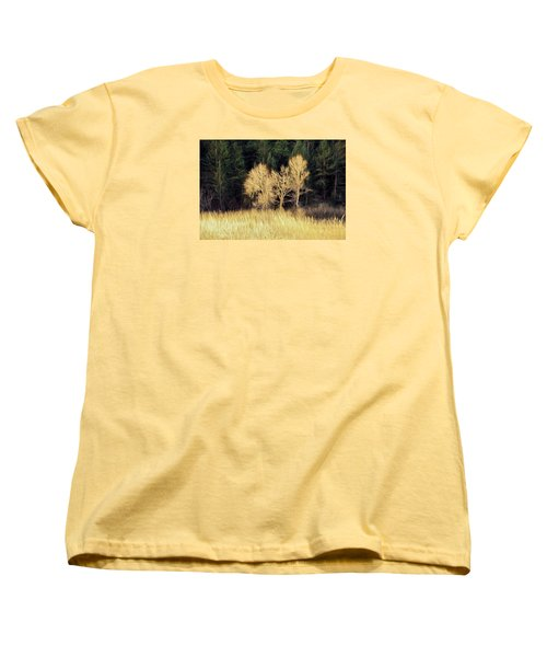As The Sunset's Women's T-Shirt (Standard Cut) by James Steele