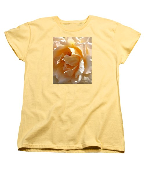 Women's T-Shirt (Standard Cut) featuring the photograph August Rose 1 by Fred Wilson