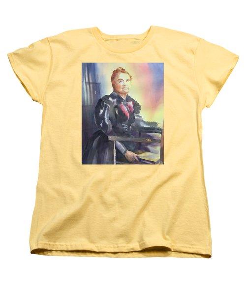 Aunt Carry A. Nation, Circa 1900 Women's T-Shirt (Standard Cut) by Tara Moorman