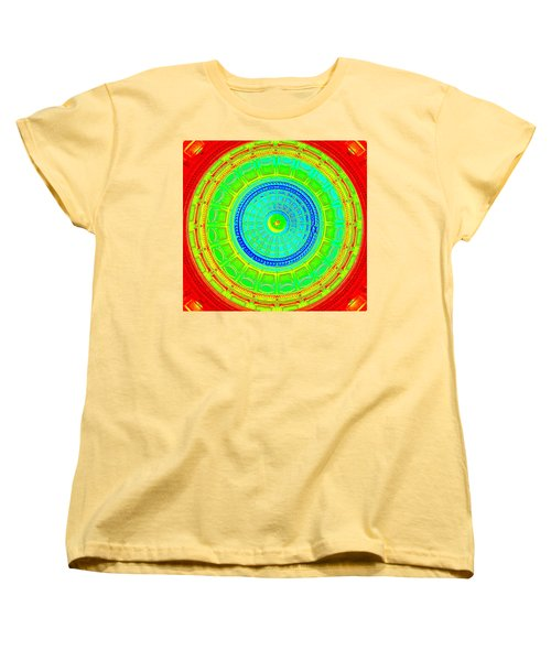 Austin Dome - C Women's T-Shirt (Standard Cut) by Karen J Shine