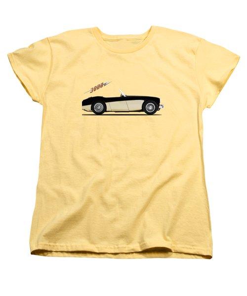 Austin Healey 3000 Women's T-Shirt (Standard Cut) by Mark Rogan