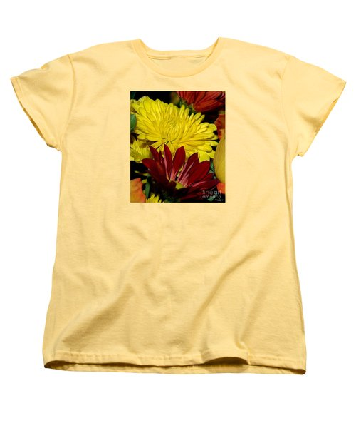 Women's T-Shirt (Standard Cut) featuring the photograph Autumn Colors by Patricia Griffin Brett