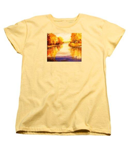 Autumn Gateway Women's T-Shirt (Standard Cut) by Al Brown