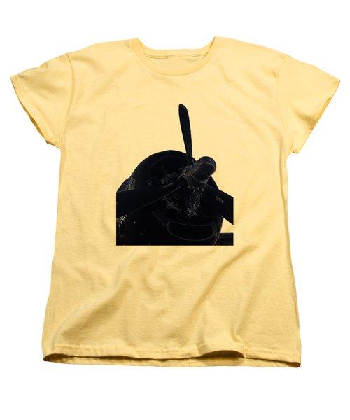 Avenger Women's T-Shirt (Standard Cut) by Julio Lopez