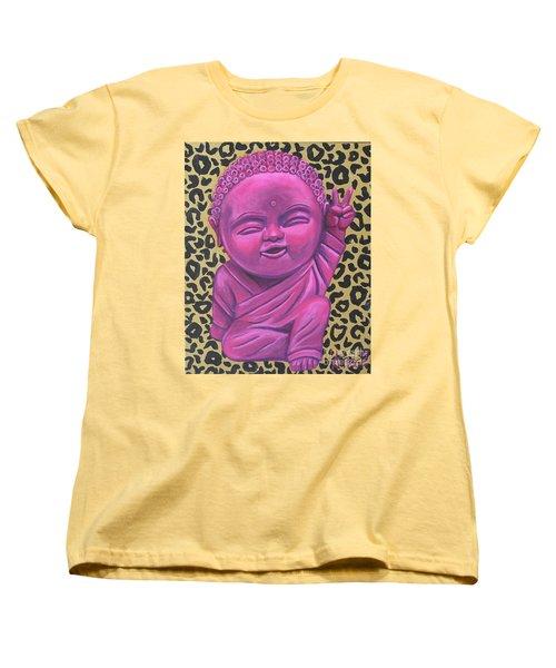Baby Buddha 2 Women's T-Shirt (Standard Cut) by Ashley Price