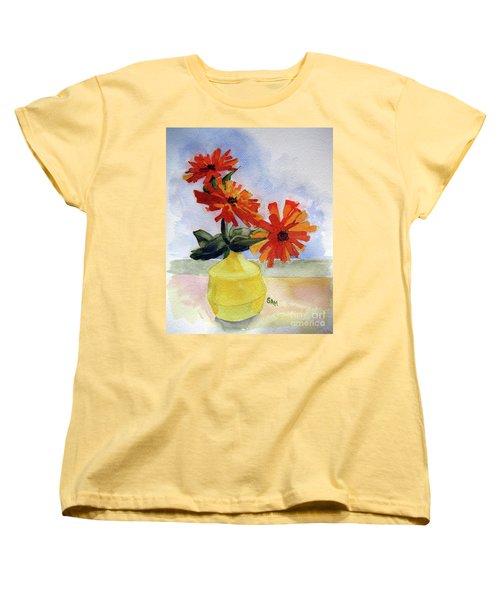Back To Basics Women's T-Shirt (Standard Cut) by Sandy McIntire