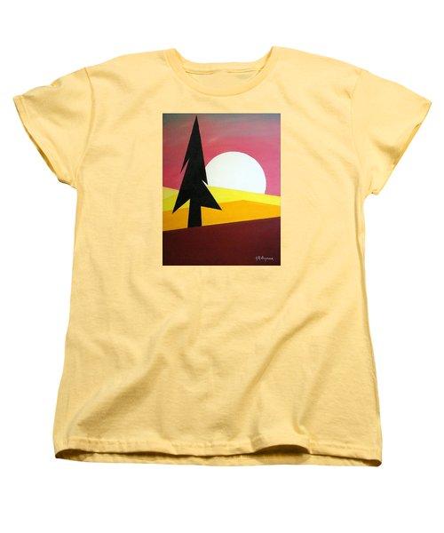 Bad Moon Rising Women's T-Shirt (Standard Cut) by J R Seymour