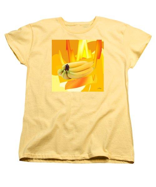Banana Boat Women's T-Shirt (Standard Cut) by Jacquie King