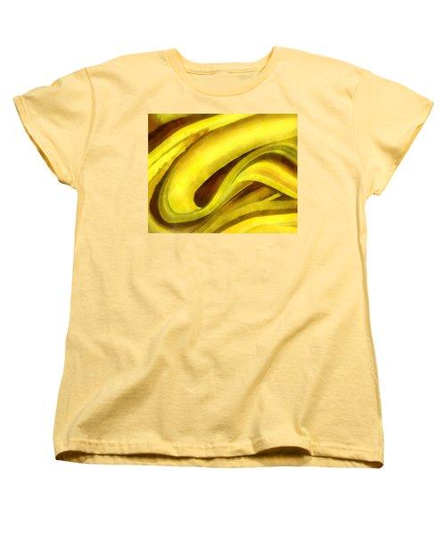 Banana With Chocolate Women's T-Shirt (Standard Cut) by Francesa Miller