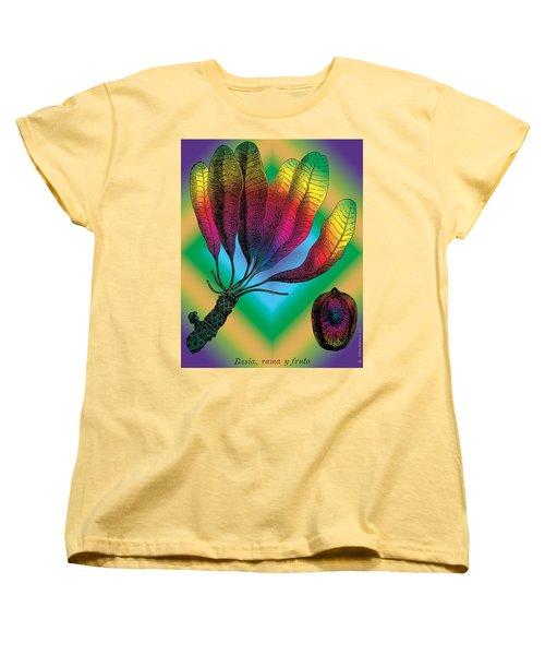 Basia Plant Women's T-Shirt (Standard Cut)