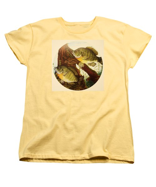 Basking Bluegills Women's T-Shirt (Standard Cut) by Bruce Bley