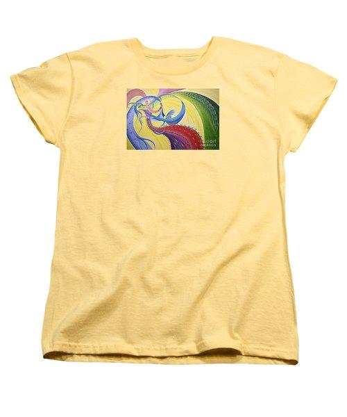 Baubles N Bows Women's T-Shirt (Standard Cut) by Nancy Cupp
