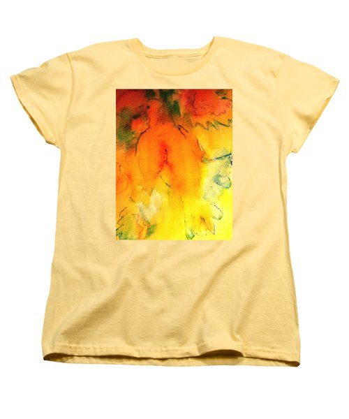 Women's T-Shirt (Standard Cut) featuring the painting Be Harmless As Doves by Hazel Holland