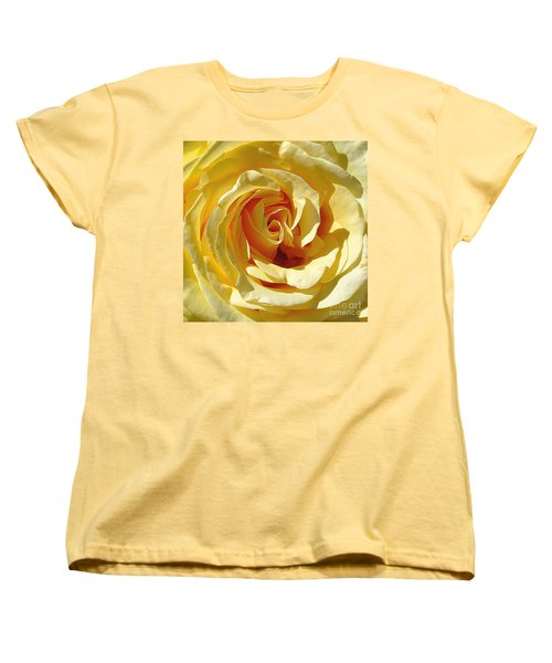 Be Still And Know Women's T-Shirt (Standard Cut) by Gina Savage