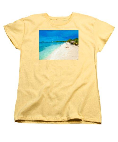 Beach Holiday  Women's T-Shirt (Standard Cut) by Anthony Fishburne