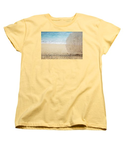 Beautiful Coral Element 1 Women's T-Shirt (Standard Cut) by Brandon Tabiolo - Printscapes