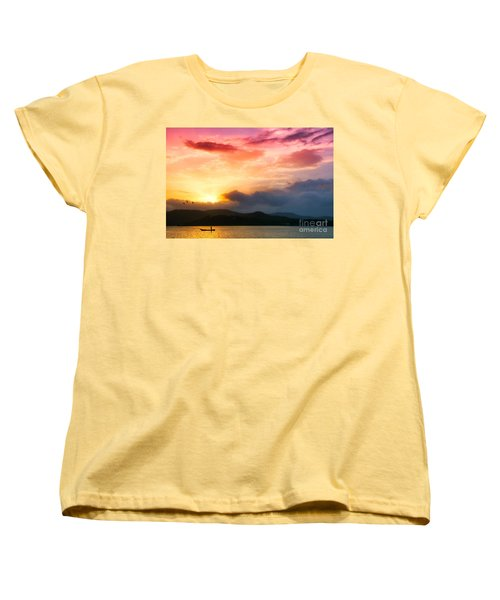 Beautiful Sunset Women's T-Shirt (Standard Cut)