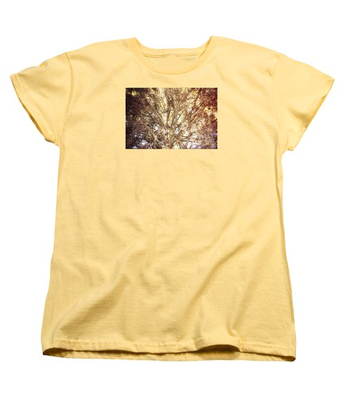 Beauty And The Branches Women's T-Shirt (Standard Cut) by Janie Johnson