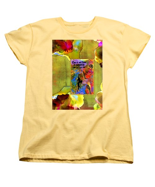 Becoming A Woman Women's T-Shirt (Standard Cut) by Angela L Walker