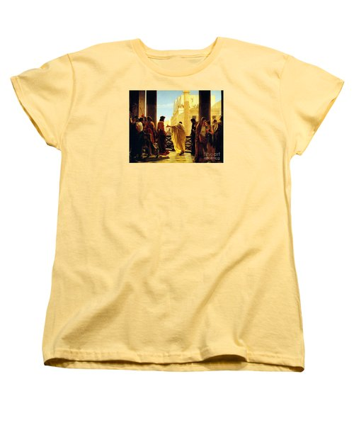 Behold The Man Women's T-Shirt (Standard Cut) by Celestial Images