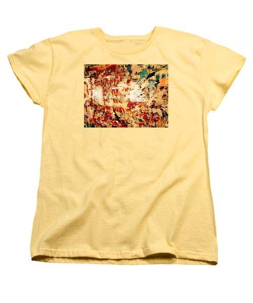 Beirut Funky Wall Art  Women's T-Shirt (Standard Cut) by Funkpix Photo Hunter