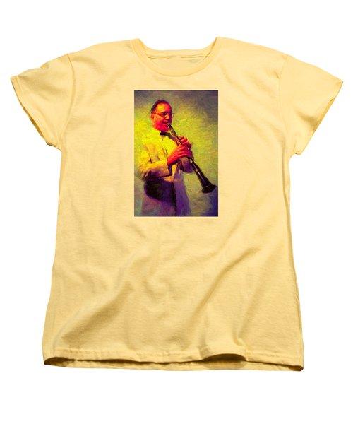 Benny Goodman Women's T-Shirt (Standard Cut) by Caito Junqueira