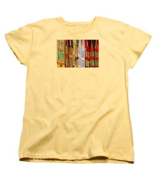 Bergen Warehouses Women's T-Shirt (Standard Cut) by Dennis Cox WorldViews