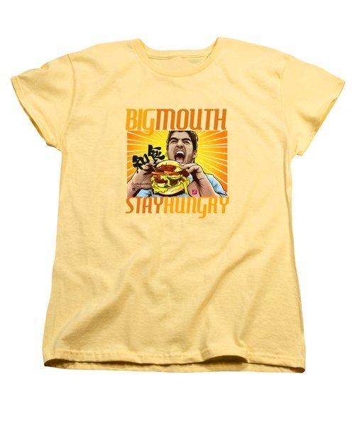 Bigmouth Women's T-Shirt (Standard Cut) by Akyanyme