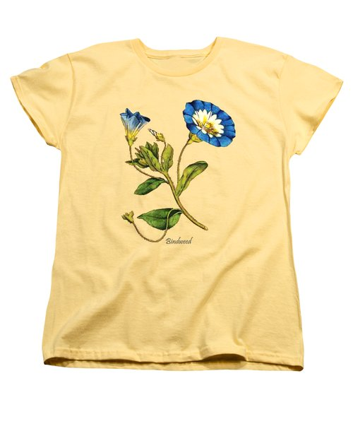 Bindweed Women's T-Shirt (Standard Cut) by Asok Mukhopadhyay
