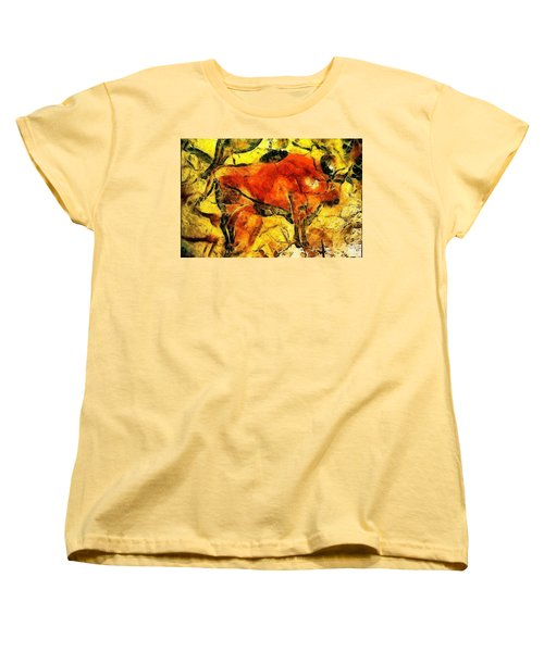 Bison Women's T-Shirt (Standard Cut) by Anton Kalinichev
