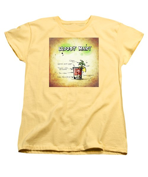 Bloody Mary Women's T-Shirt (Standard Cut) by Movie Poster Prints