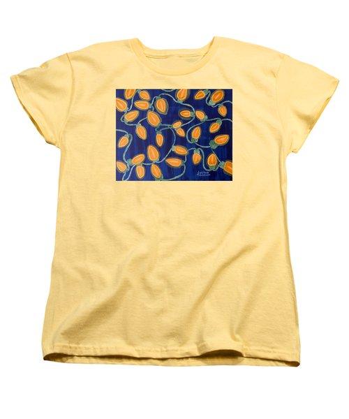 Blue Holiday Women's T-Shirt (Standard Cut)