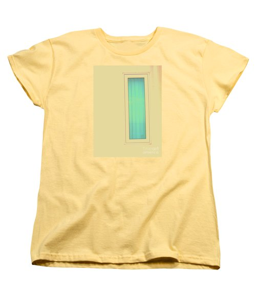 Women's T-Shirt (Standard Cut) featuring the photograph Blue  by Vanessa Palomino