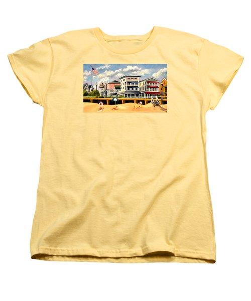Boardwalk On The Jersey Shore Women's T-Shirt (Standard Cut)
