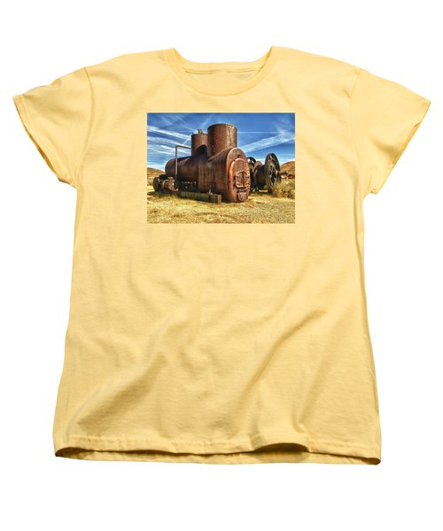 Old Boiler Bodie State Park Women's T-Shirt (Standard Cut) by James Hammond