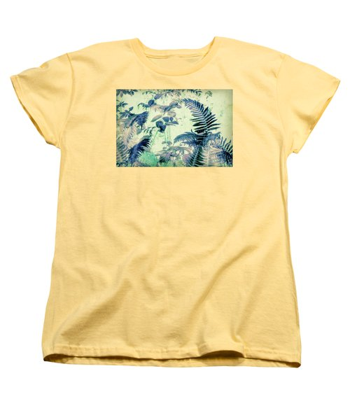 Botanical Art - Fern Women's T-Shirt (Standard Cut) by Bonnie Bruno