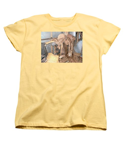 Women's T-Shirt (Standard Cut) featuring the photograph Brazilian Cowboy Clothes by Beto Machado
