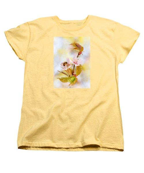 Women's T-Shirt (Standard Cut) featuring the photograph Breakfast At Sakura by Alexander Senin