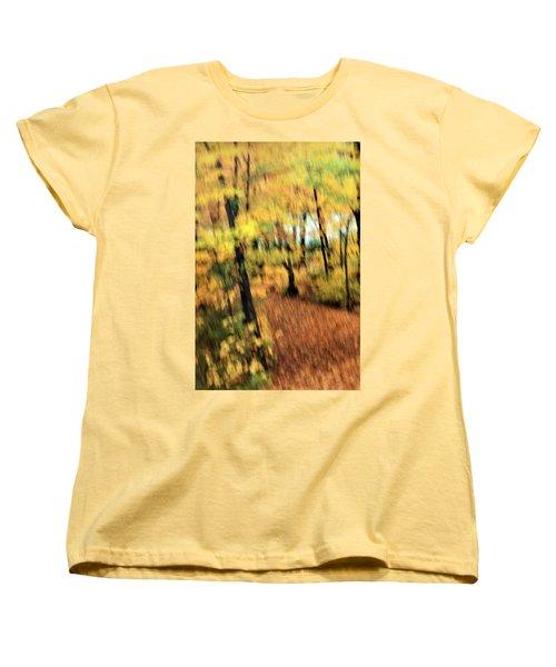 Breeze Women's T-Shirt (Standard Cut) by Allen Beilschmidt