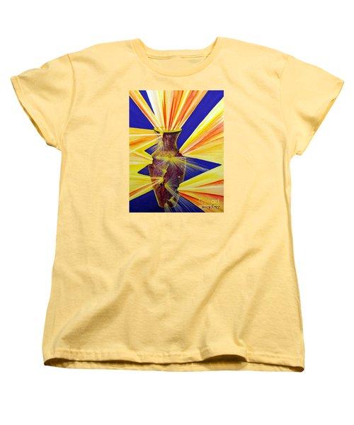 Broken Vessel Women's T-Shirt (Standard Cut) by Nancy Cupp
