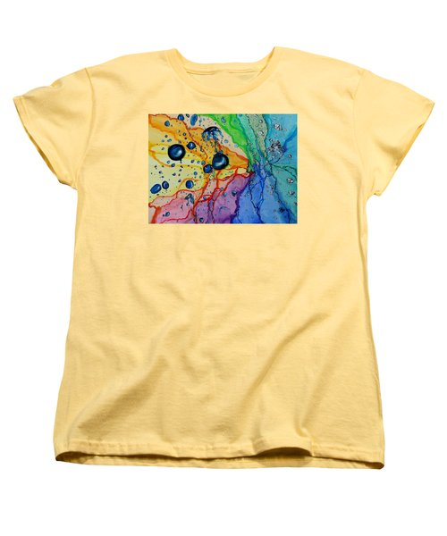 Bubbles Women's T-Shirt (Standard Cut) by Raymond Perez