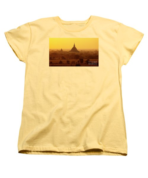 Burma_d2227 Women's T-Shirt (Standard Cut) by Craig Lovell