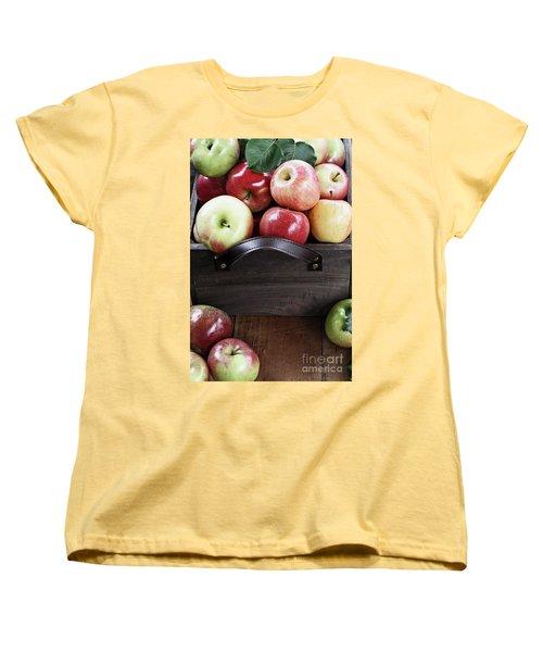 Bushel Of Apples  Women's T-Shirt (Standard Cut)
